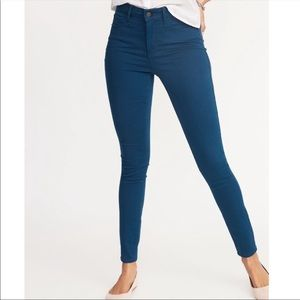 Old navy Mid-rise Teal Color Skinny Pants 6P